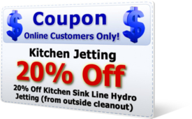 20% Off Kitchen Jetting