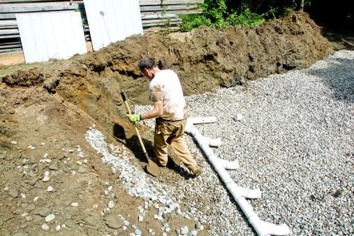 Septic Field Pipe Repair